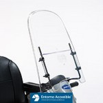 Scooter Invacare Orion. Parabrisas